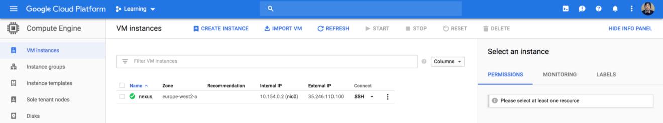 Deploy Private Docker Registry on GCP with Nexus, Terraform