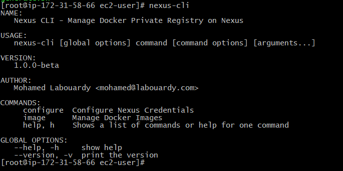 Cleanup old Docker images from Nexus Repository - Mohamed Labouardy